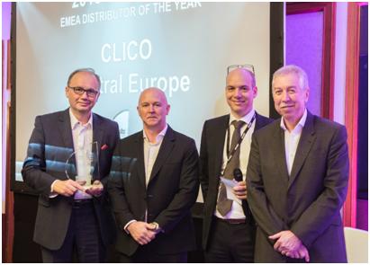 Clico Najlepszym Dystrybutorem Roku 2015 Gemalto