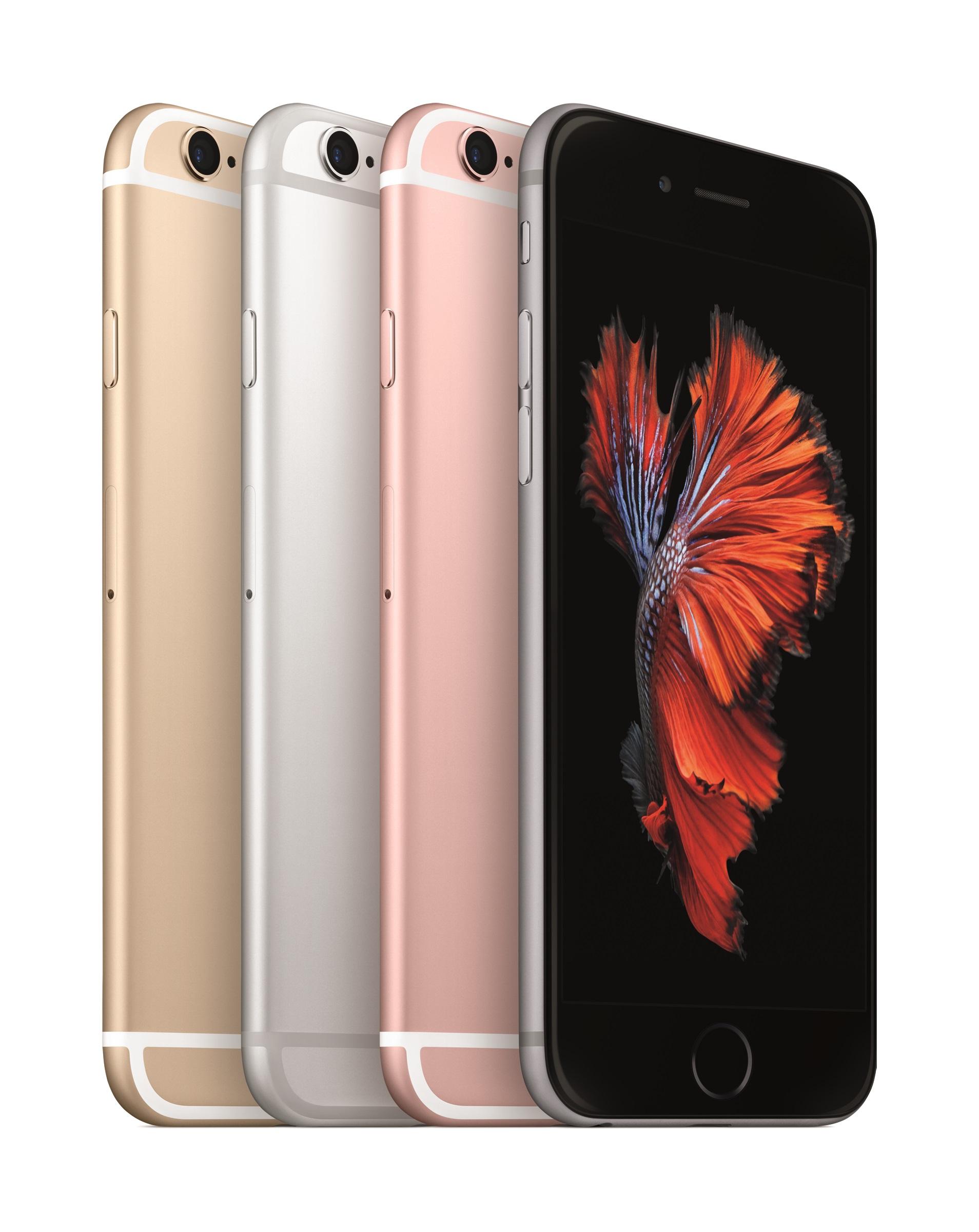 Spada sprzedaż iPhone'a