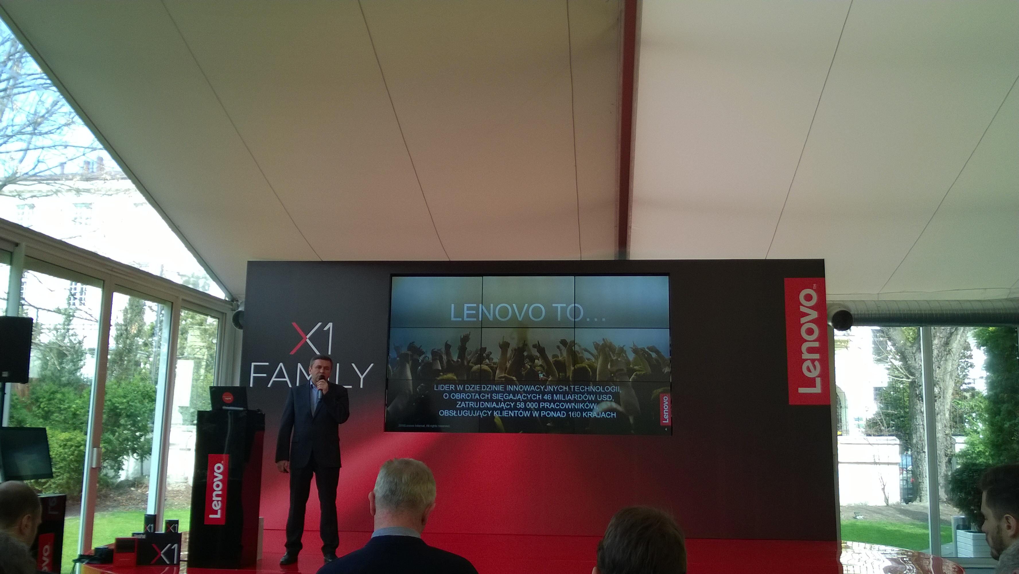 Lenovo: tylko razem z partnerami