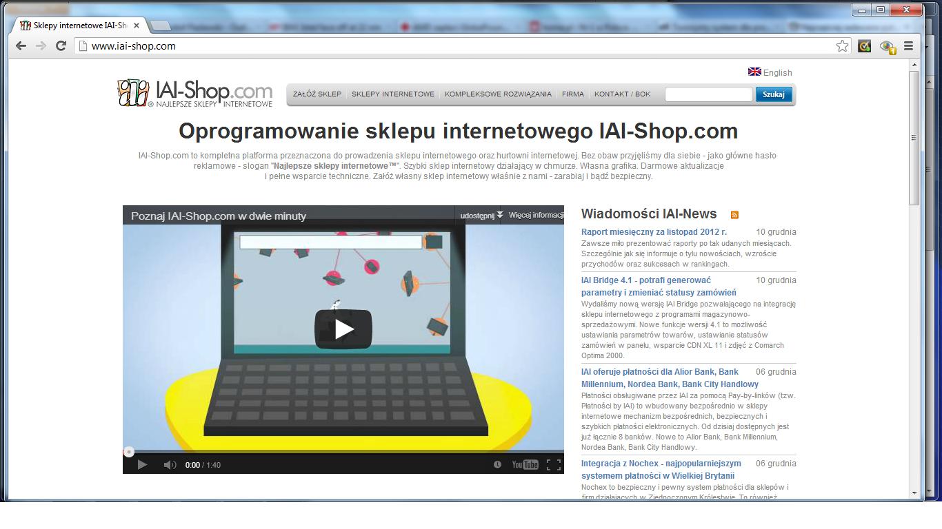 IAI-Shop zintegrowany z Amazonem