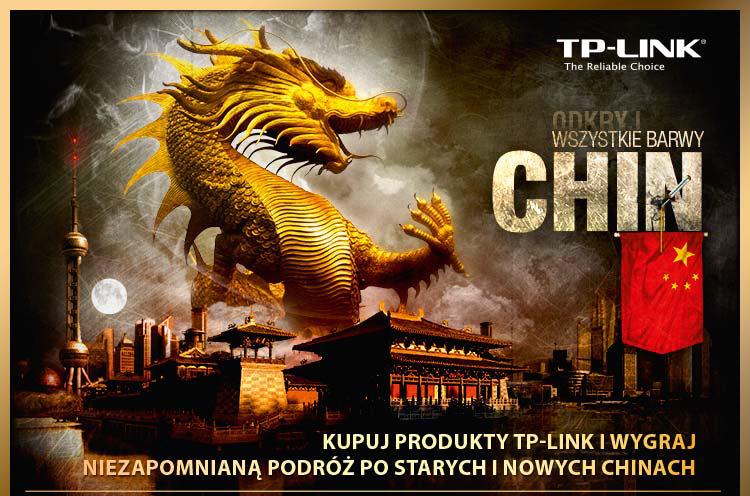 """Promocja TP-LINK """"Odkryj Wszystkie Barwy Chin"""""""