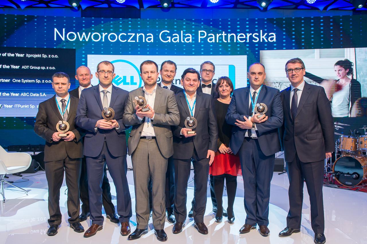Dell nagrodził polskich partnerów