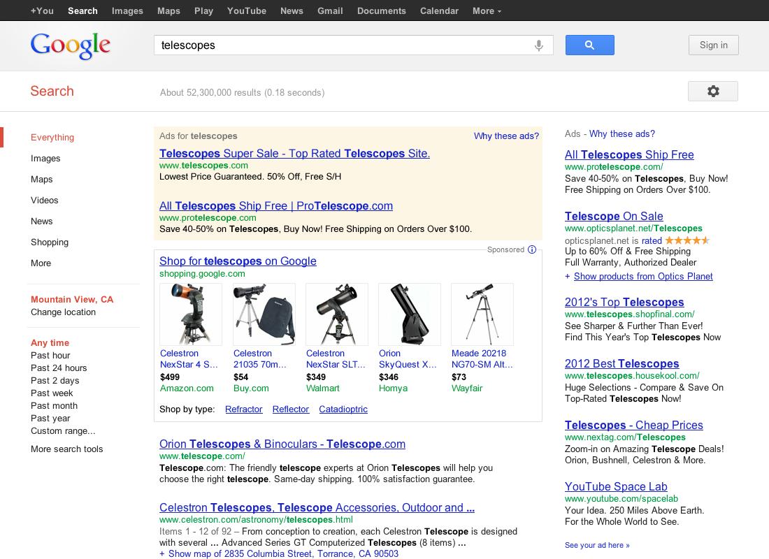 Rewolucja w Google'u – nowy system ułatwi znalezienie sklepów