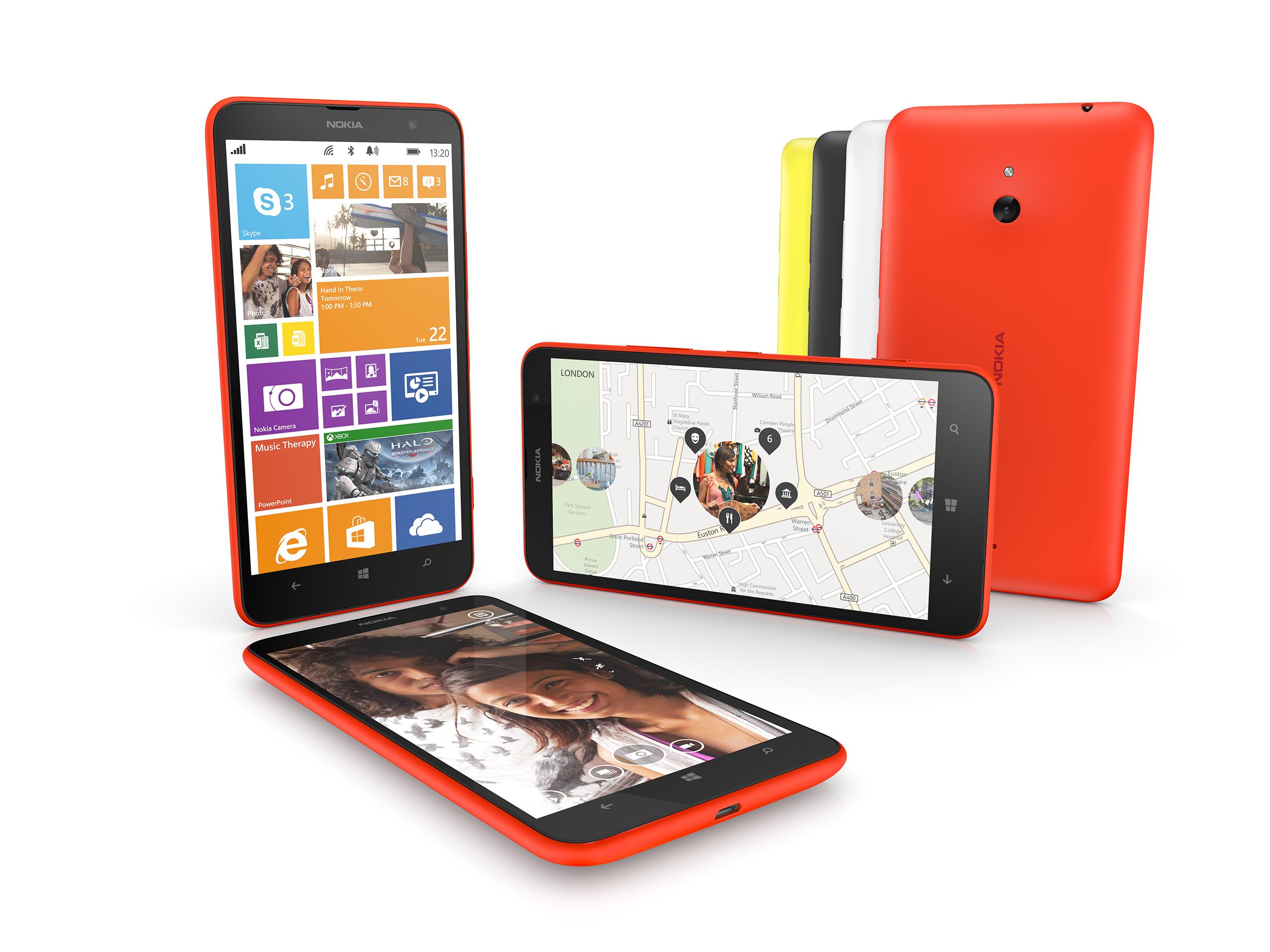 Telefony Lumia pod marką Microsoftu