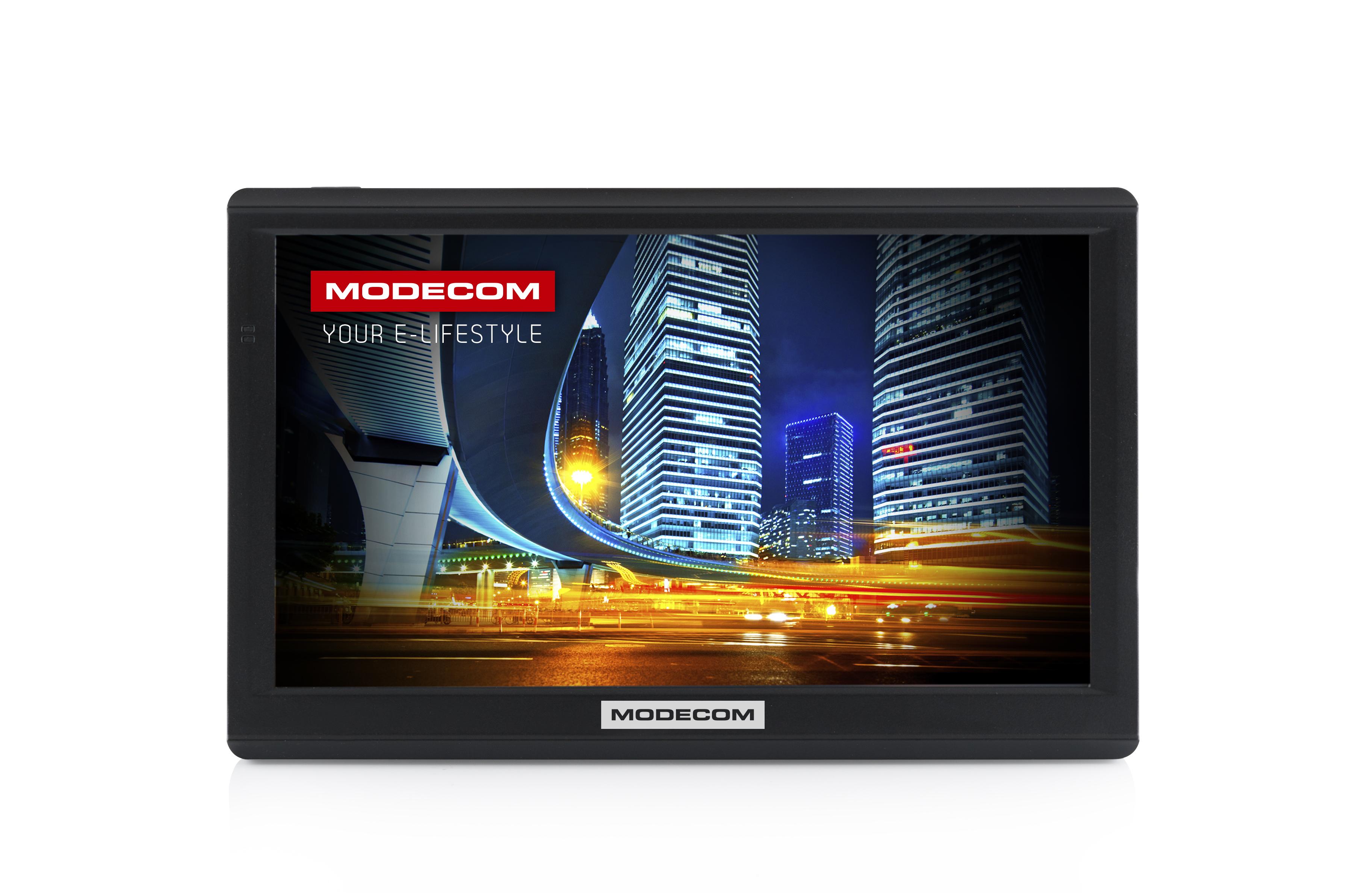 Modecom: nawigacja z siedmiocalowym ekranem