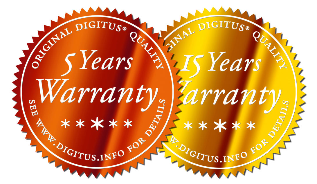 Digitus z gwarancją na 15 lat