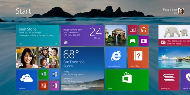 Windows 9 po raz pierwszy w kwietniu