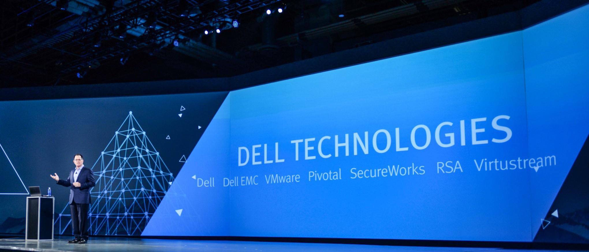 Dell połączył się z EMC