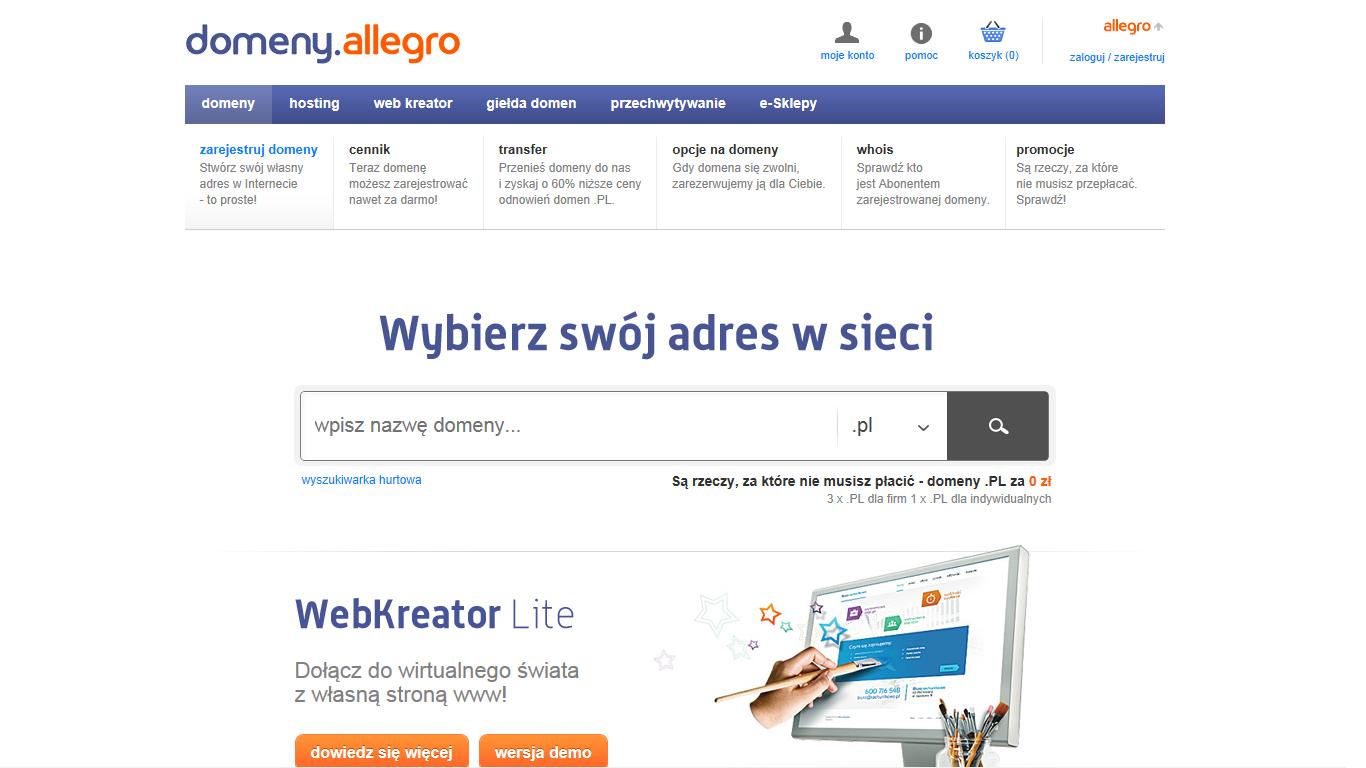 Allegro wchodzi w nowy biznes