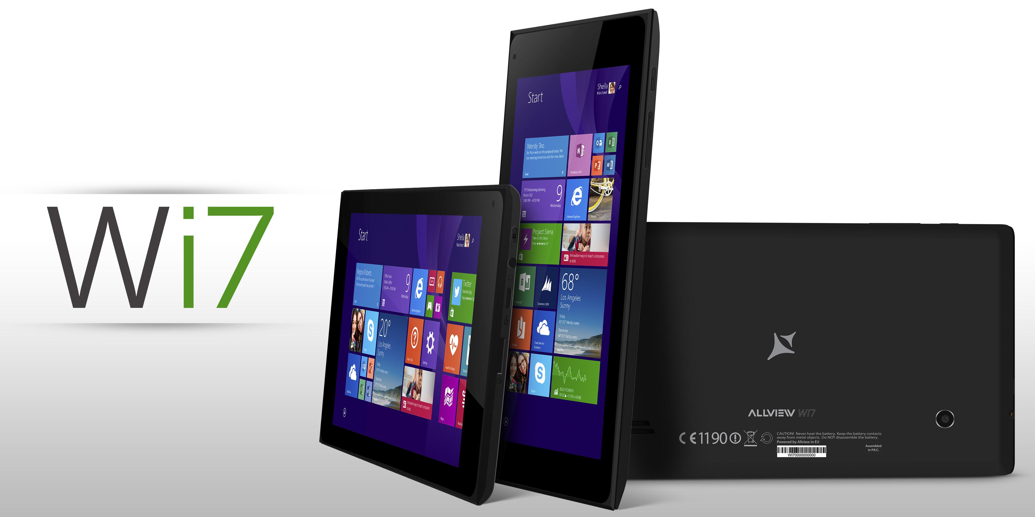 Allview ma tablety z Windowsem