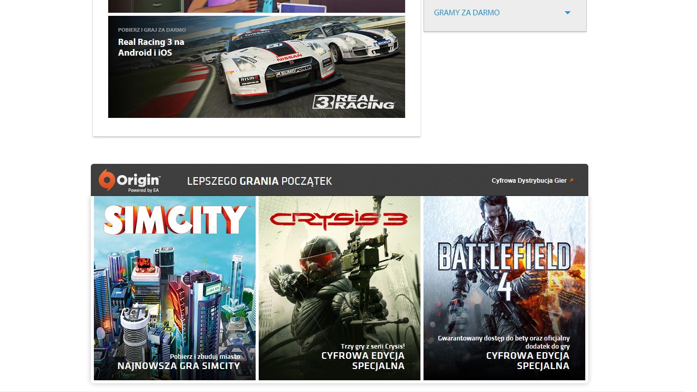 Action wyłącznym dystrybutorem gier Electronic Arts