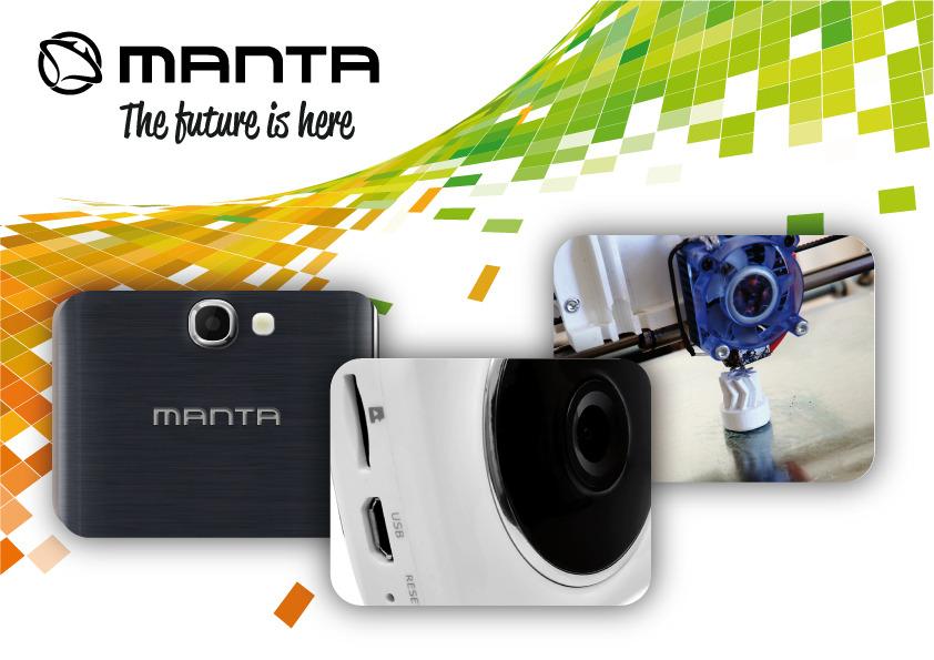 Inteligentny dom, zaawansowane smartfony i drukarki 3D – Manta ujawnia plany na 2015 rok