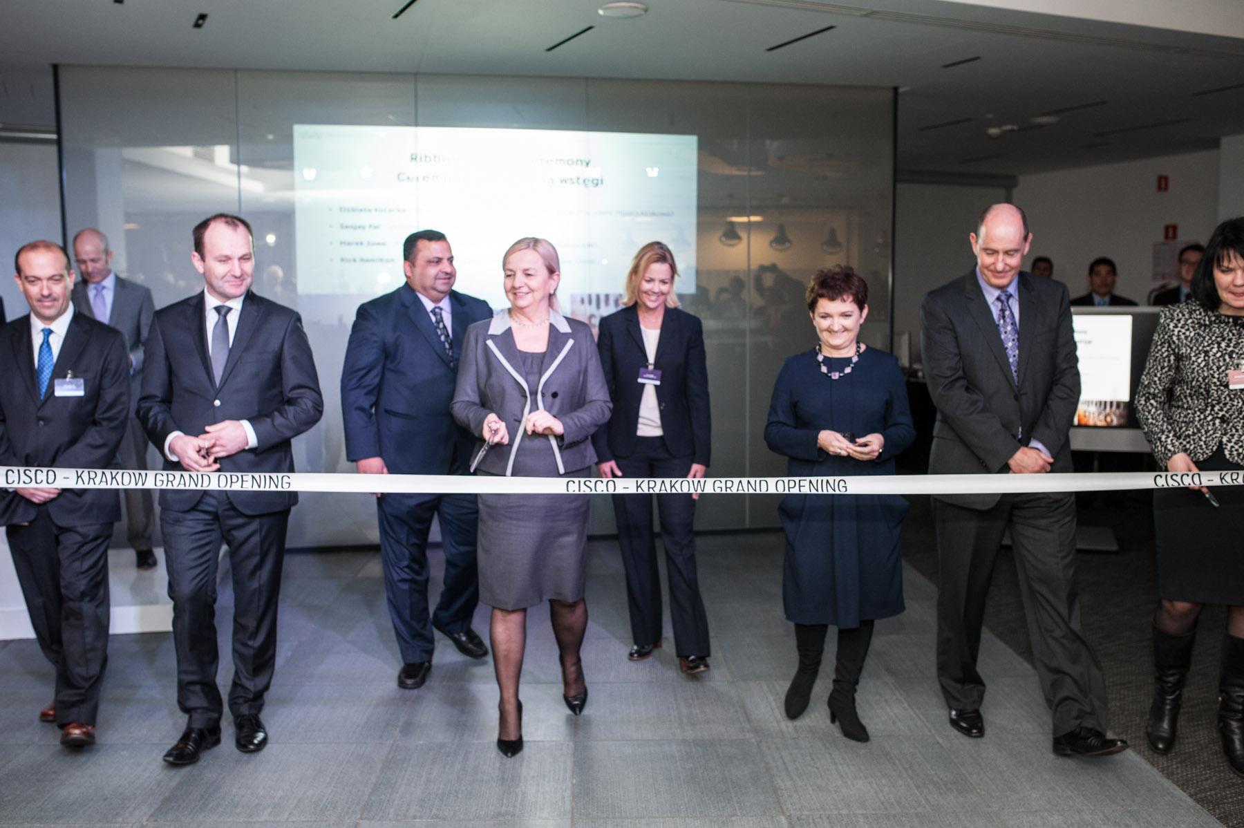 Cisco rozbudowuje krakowskie centrum usług