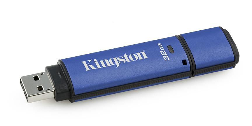Kingston: pamięci USB chronione szyfrem