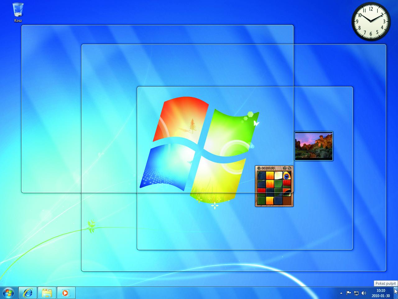 Toshiba: 99 proc. klientów w firmach wybiera Windows 7
