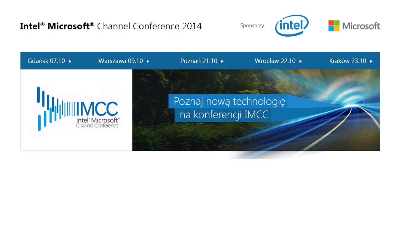 Intel Microsoft Channel Conference 2014 – o trendach i nowościach