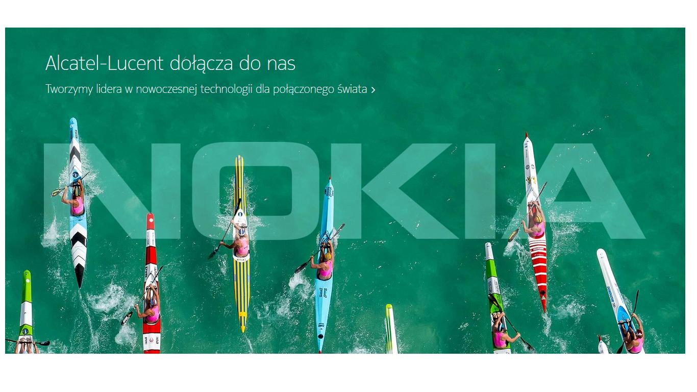Nokia połączyła się z Alcatel-Lucent