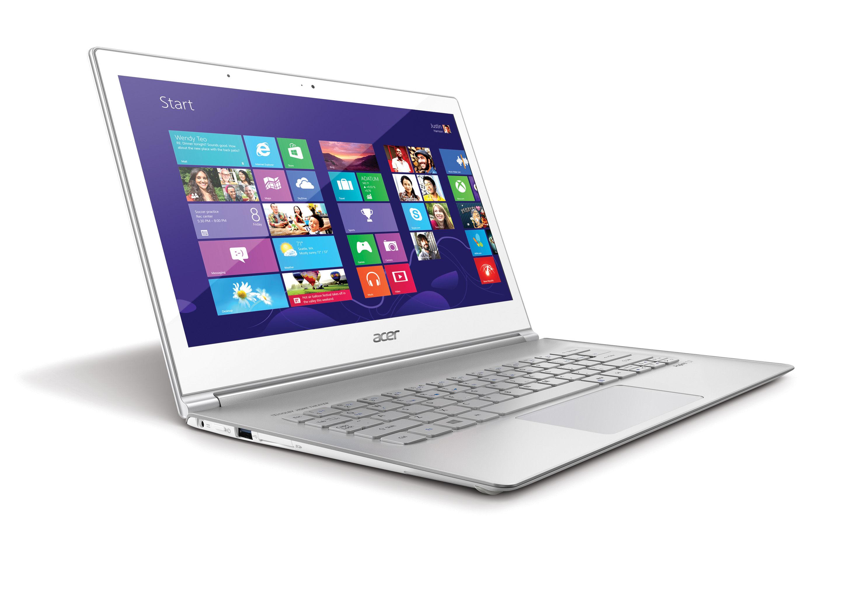 Acer na Computex 2013: ultrabooki w nowej odsłonie