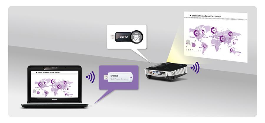 BenQ: pierwsze projektory z NFC