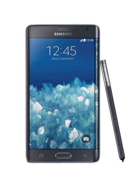 Samsung: smartfon z zakrzywionym ekranem