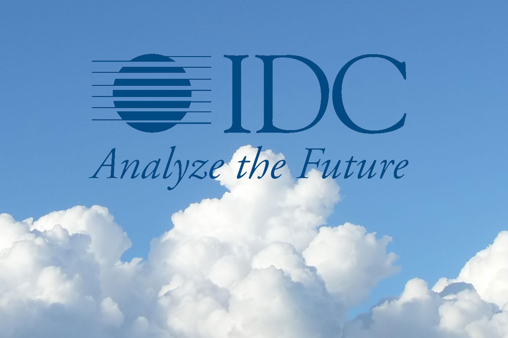 Chmura według IDC