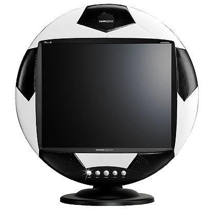 MADtech: monitor w kształcie piłki