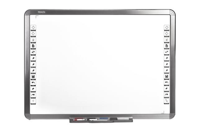 Nordweco: tablica interaktywna z paskami skrótów po polsku