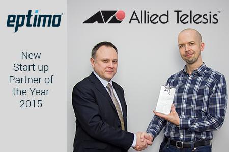Eptimo najlepszym nowym dystrybutorem Allied Telesis w Europie