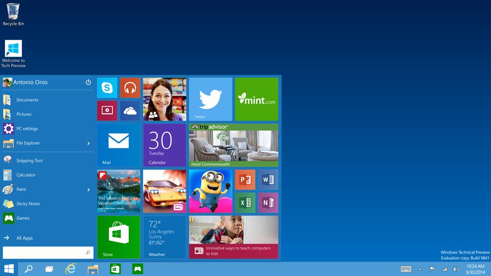 Windows 10 będzie za darmo