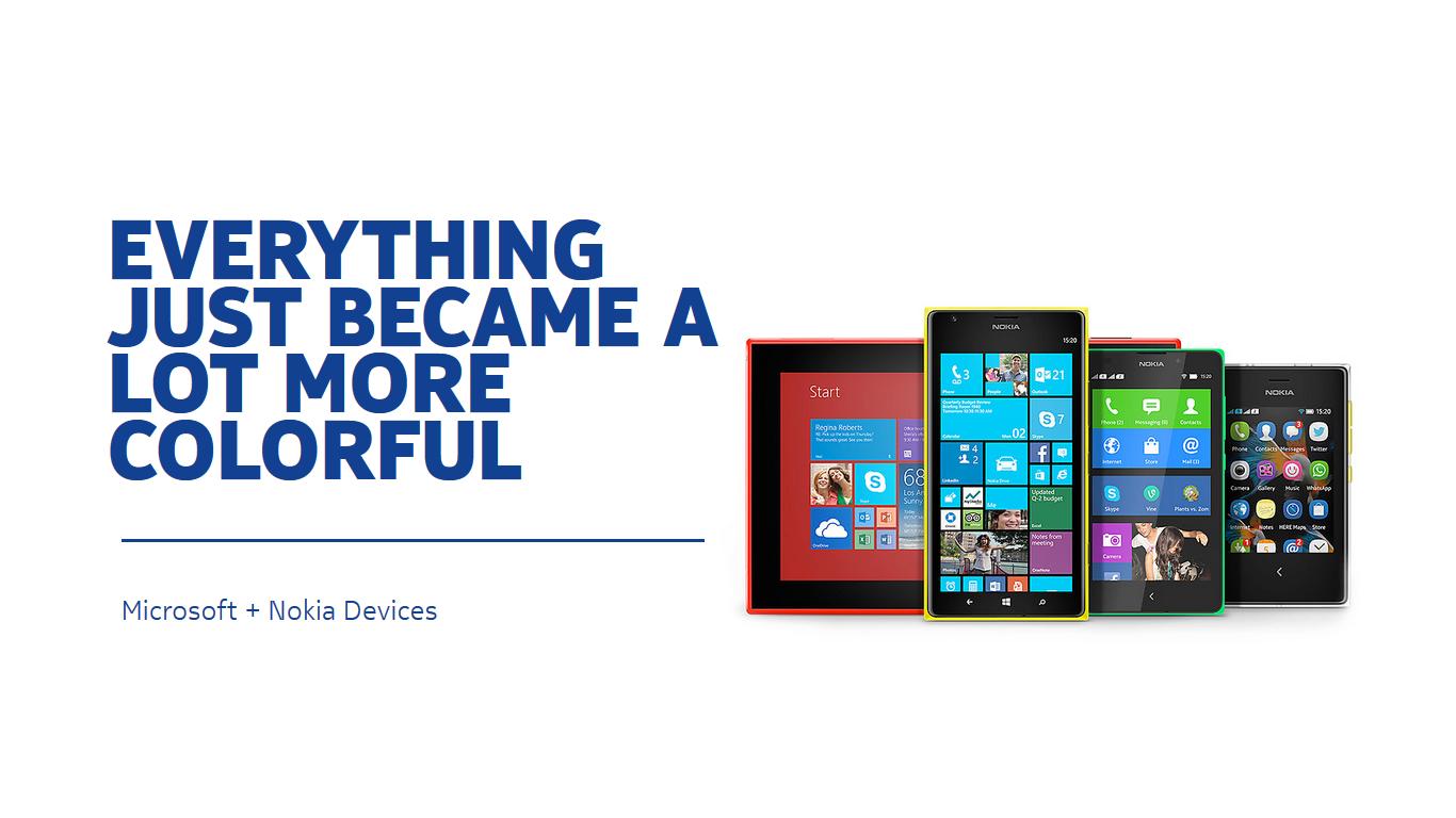Microsoft przejął dział sprzętowy Nokii