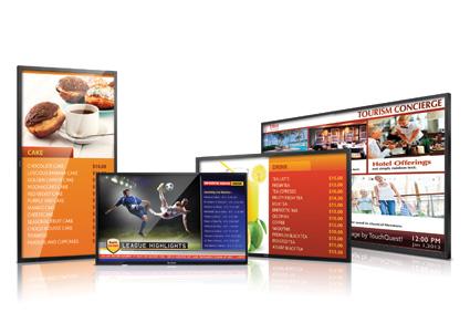 Rozwiązania Digital Signage ViewSonic w Eptimo