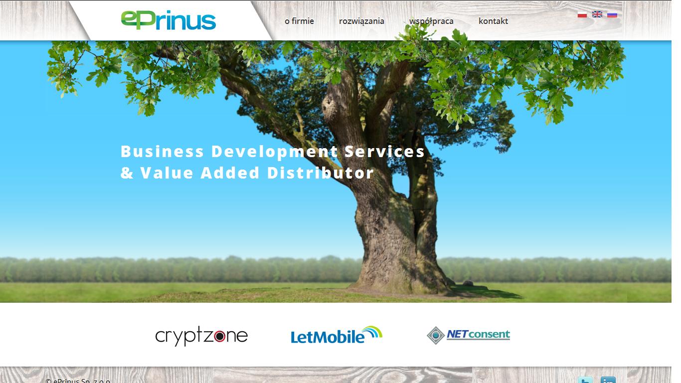 ePrinus dystrybutorem LetMobile