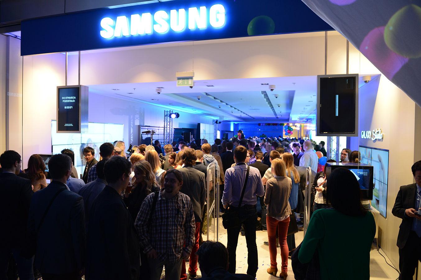 Kolejny sklep firmowy Samsunga