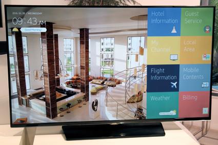 ISE: hotelowa ofensywa Samsunga