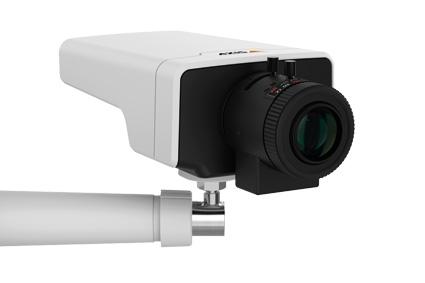 Bezpieczne obiekty z kamerami Axis
