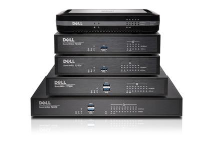 Bezpieczna sieć z firewallami Dell SonicWALL TZ