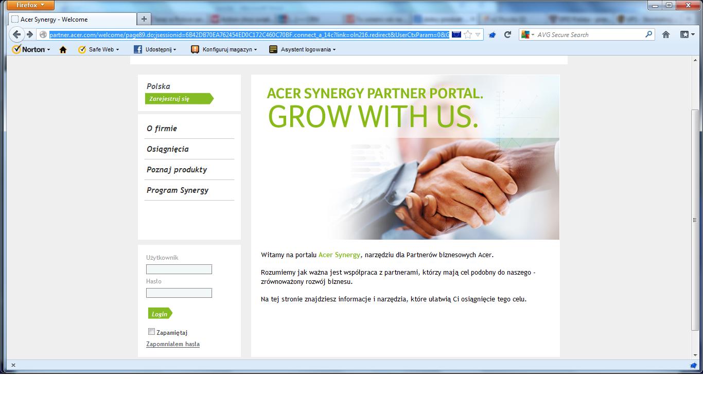 Acer uruchomił portal dla partnerów