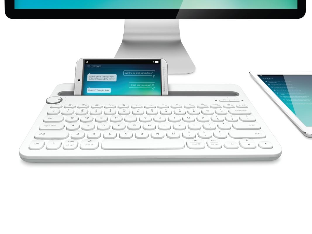 Logitech: jedna klawiatura do trzech urządzeń