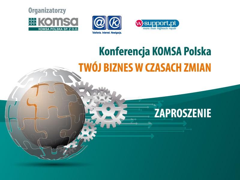 Komsa organizuje największe w Polsce targi B2B branż GSM i IT