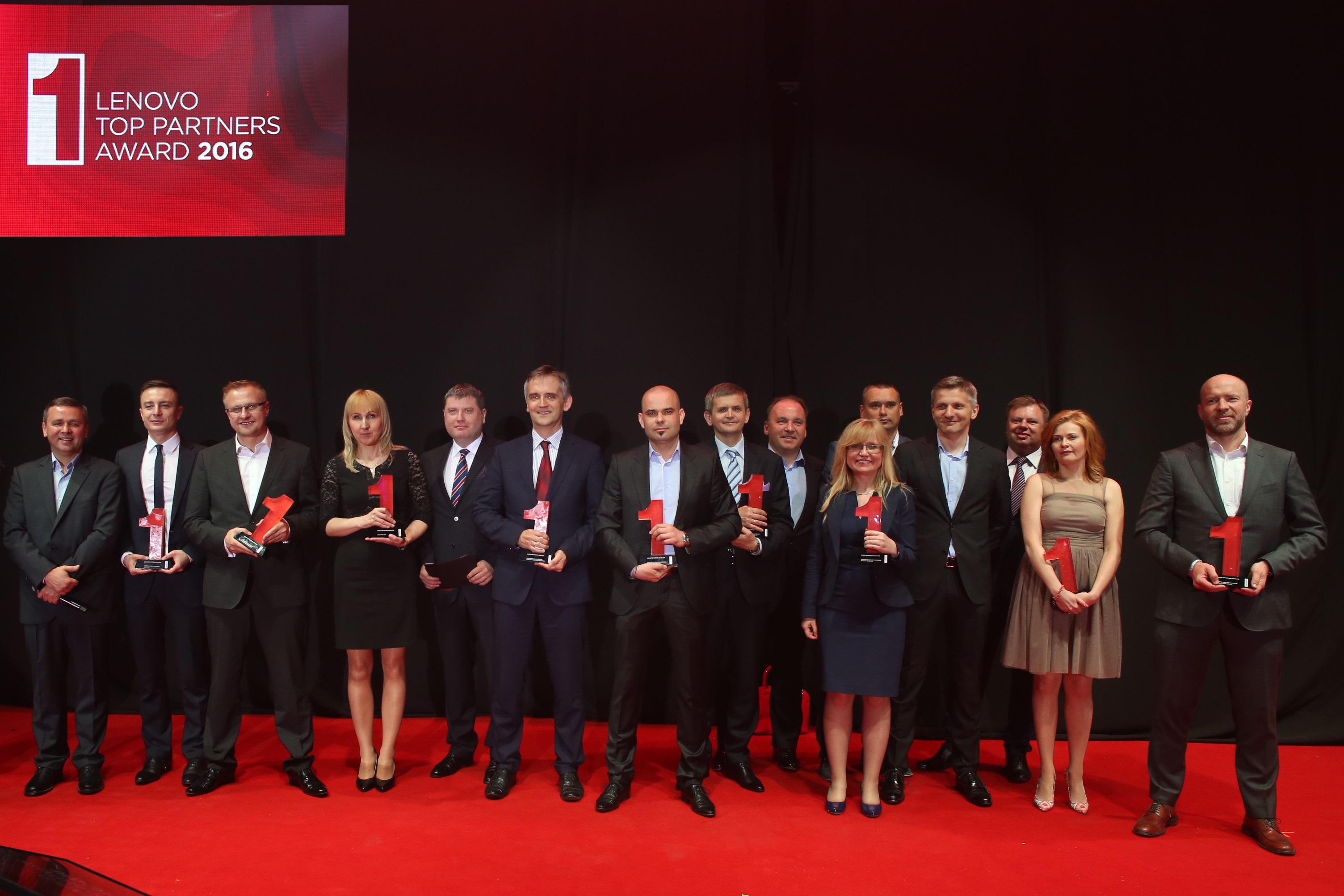 Lenovo nagrodziło partnerów