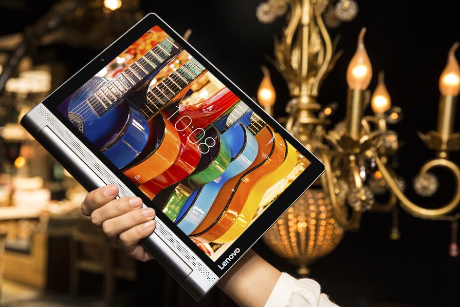 Lenovo: tablet z projektorem