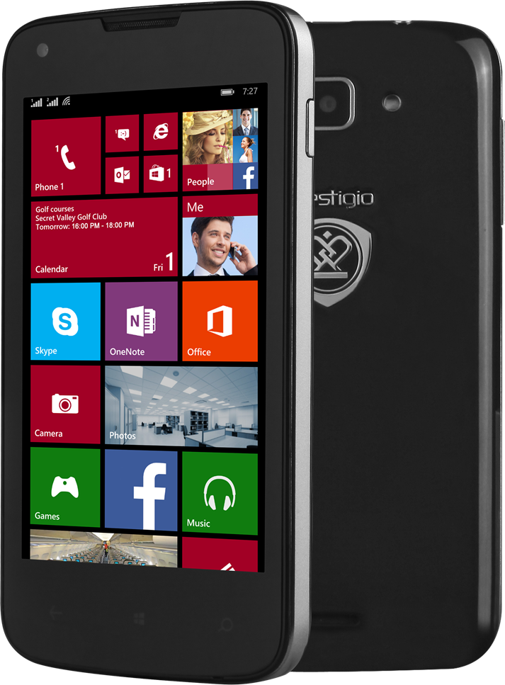 Prestigio: pierwsze smartfony z Windowsem