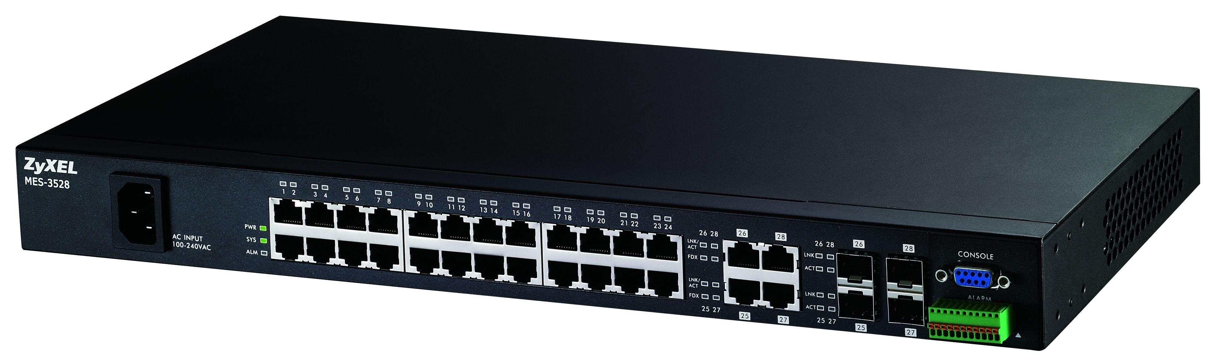RRC: przełącznik ZyXELa z 24 portami Fast Ethernet