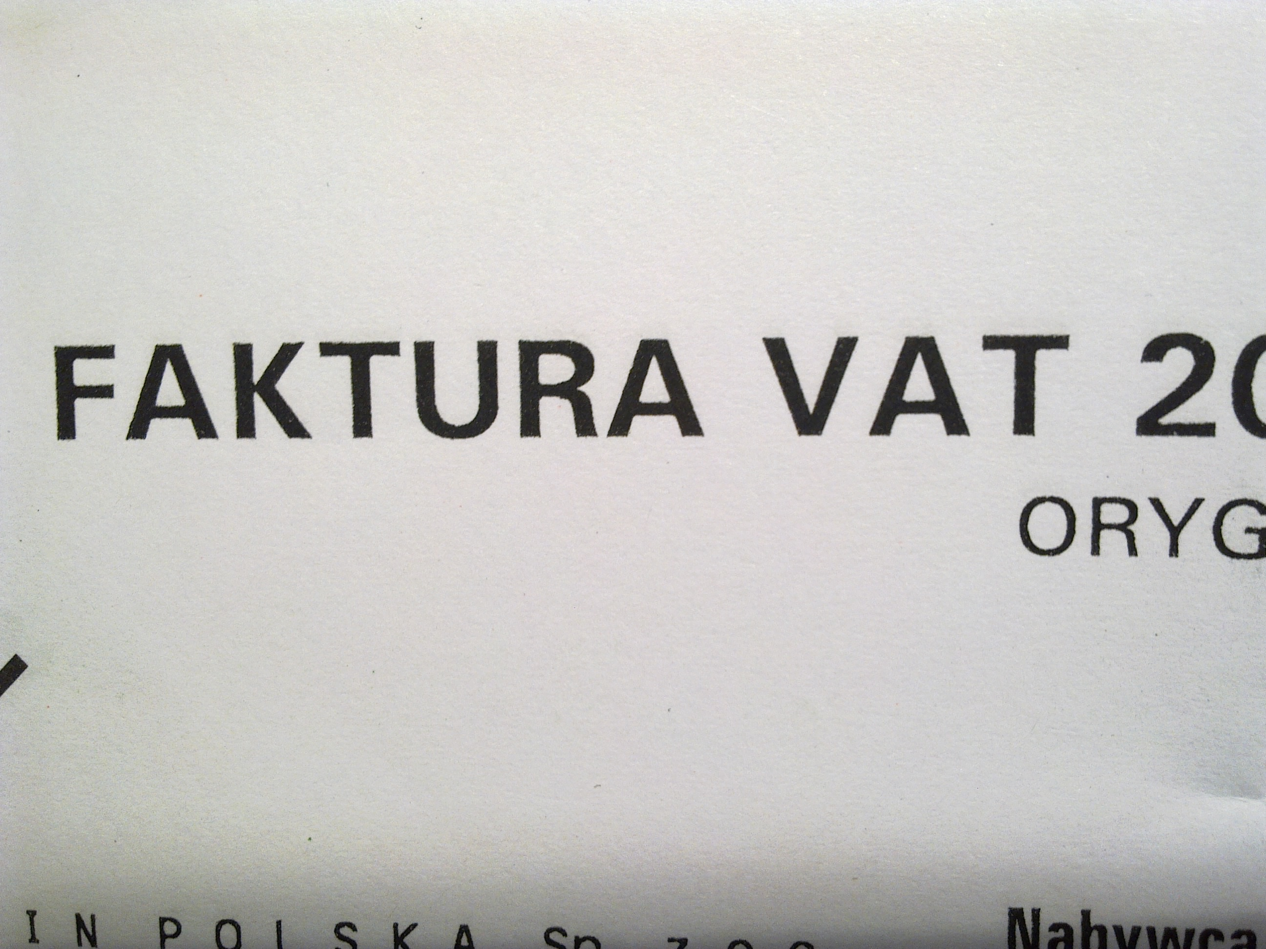 VAT: będzie podzielona płatność
