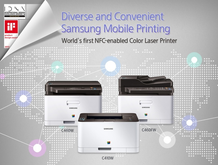 Samsung: pierwsze drukarki z NFC
