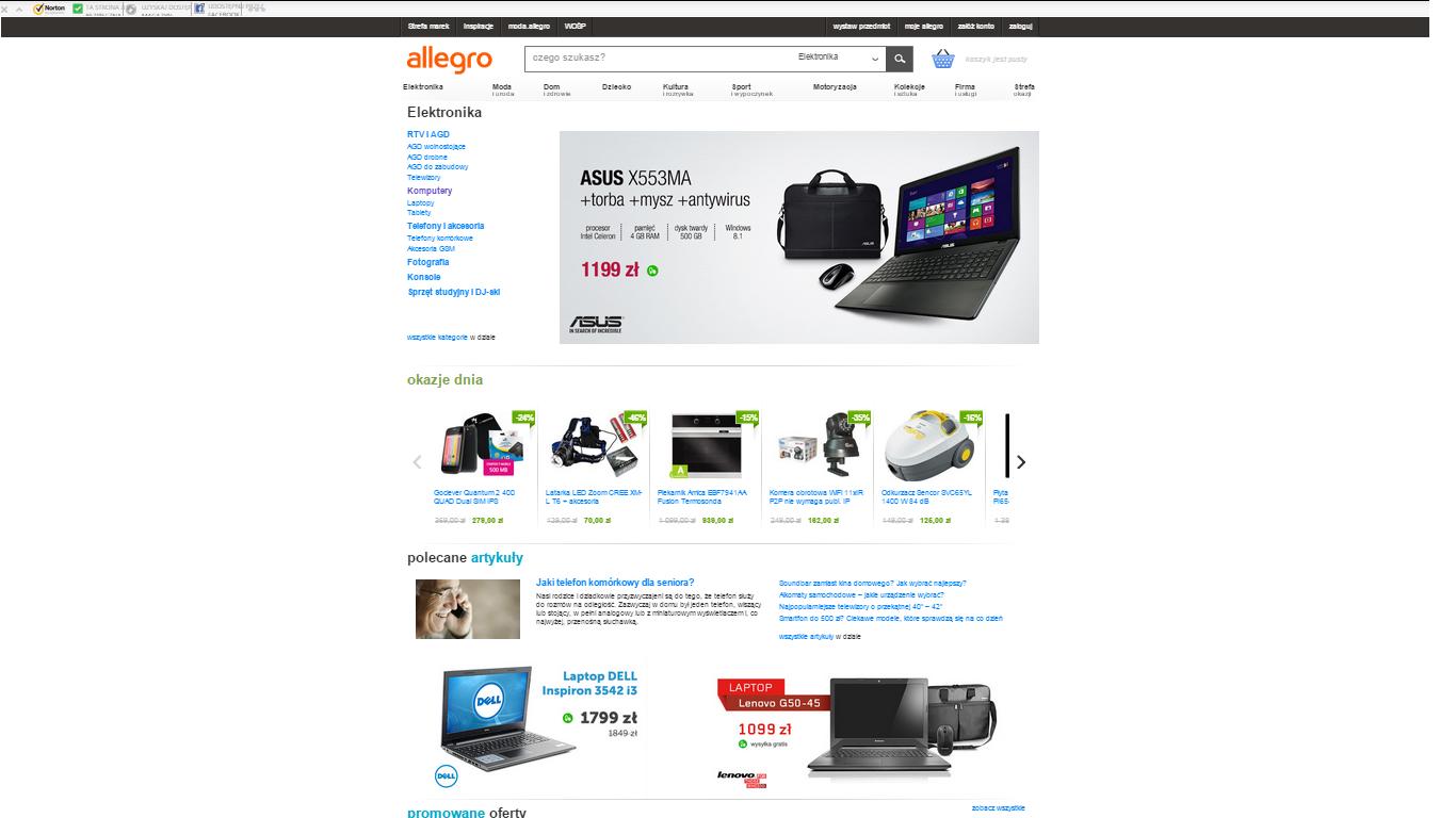 Allegro: płatne reklamy zamiast autopromocji