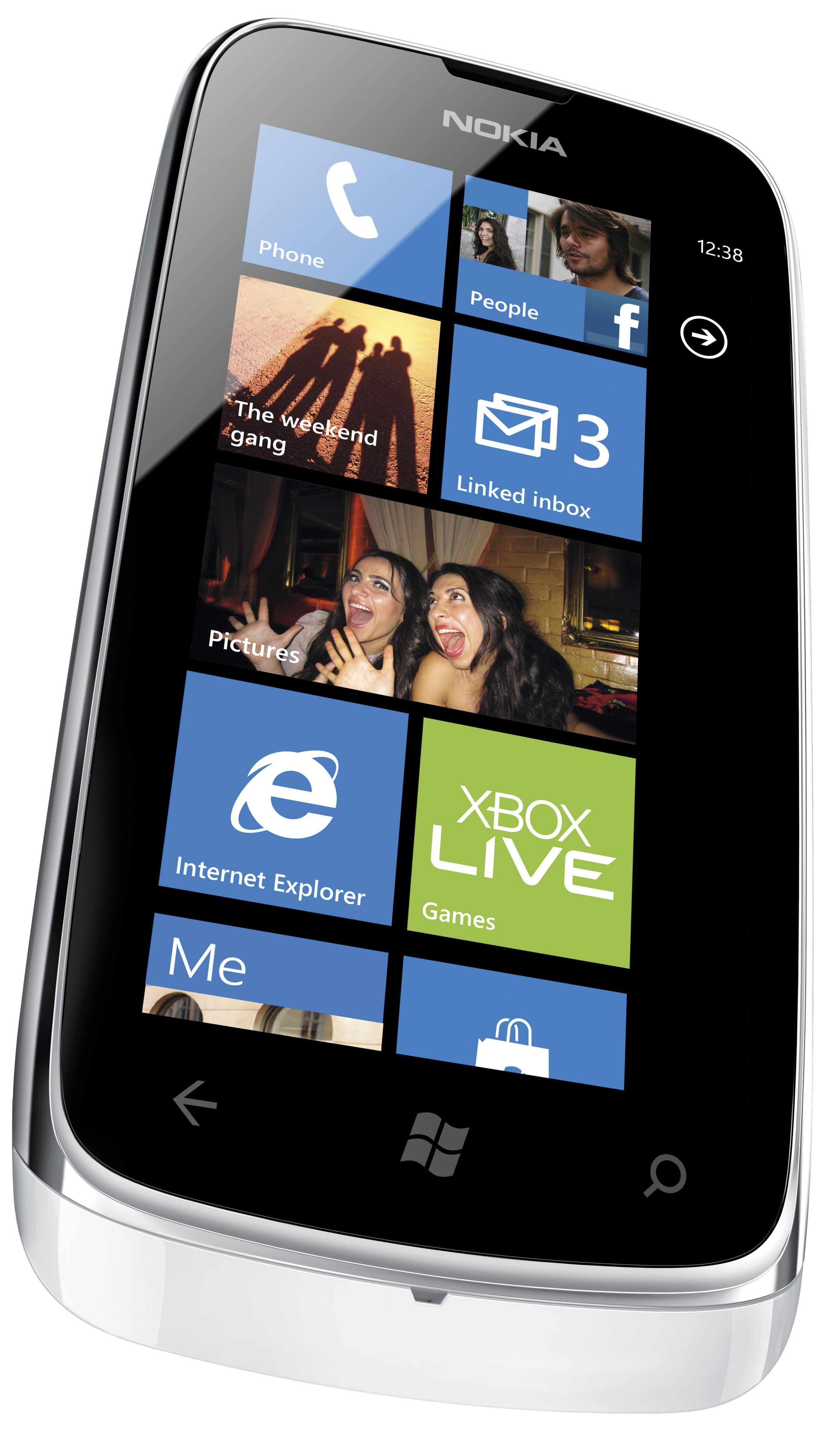 Nokia: Lumia 610 z Wi-Fi