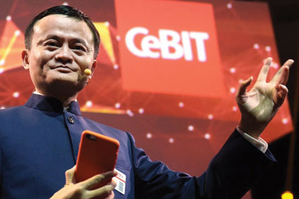 Jack Ma CeBIT