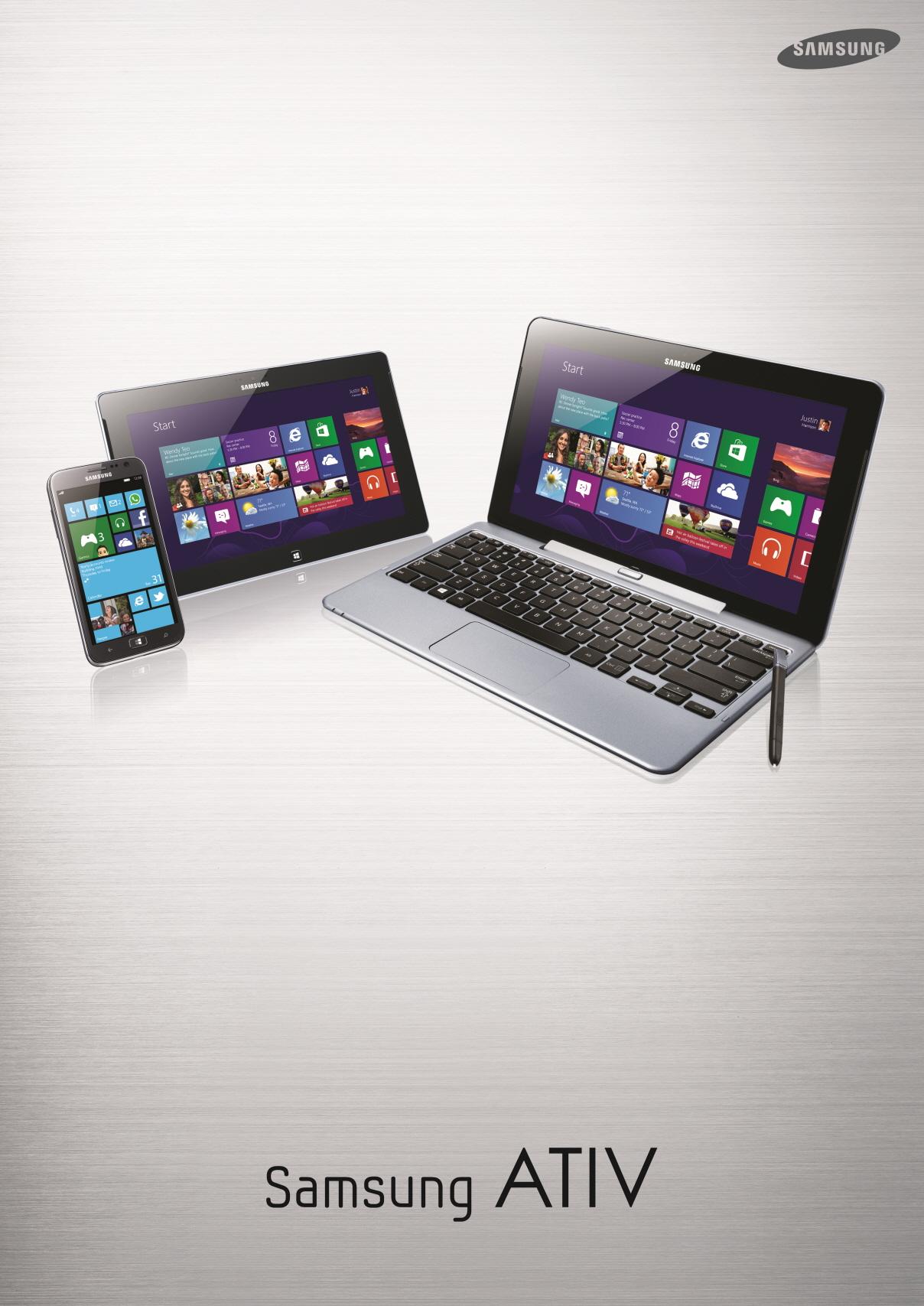 Samsungi z Windows 8 – sprzęt, jakiego jeszcze nie było