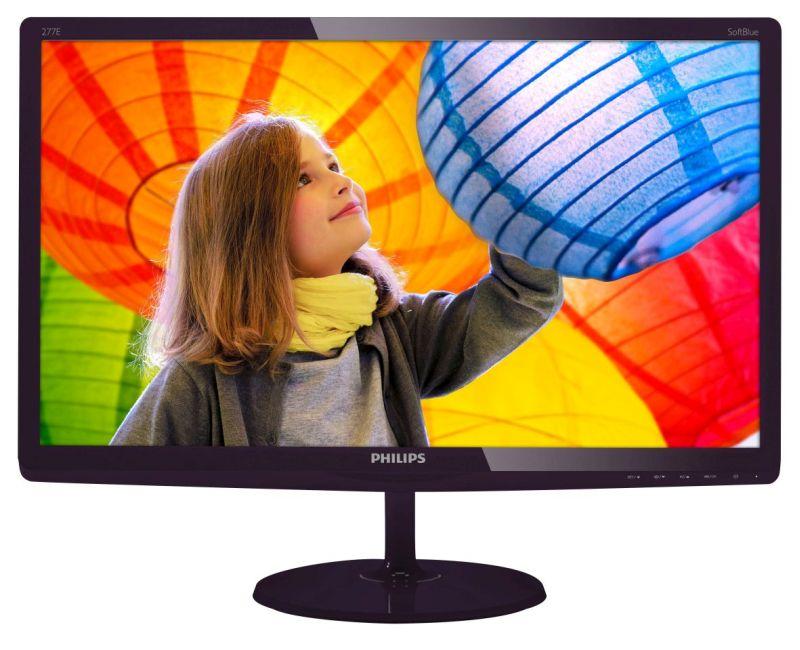 Monitory Philipsa zaświecą SoftBlue